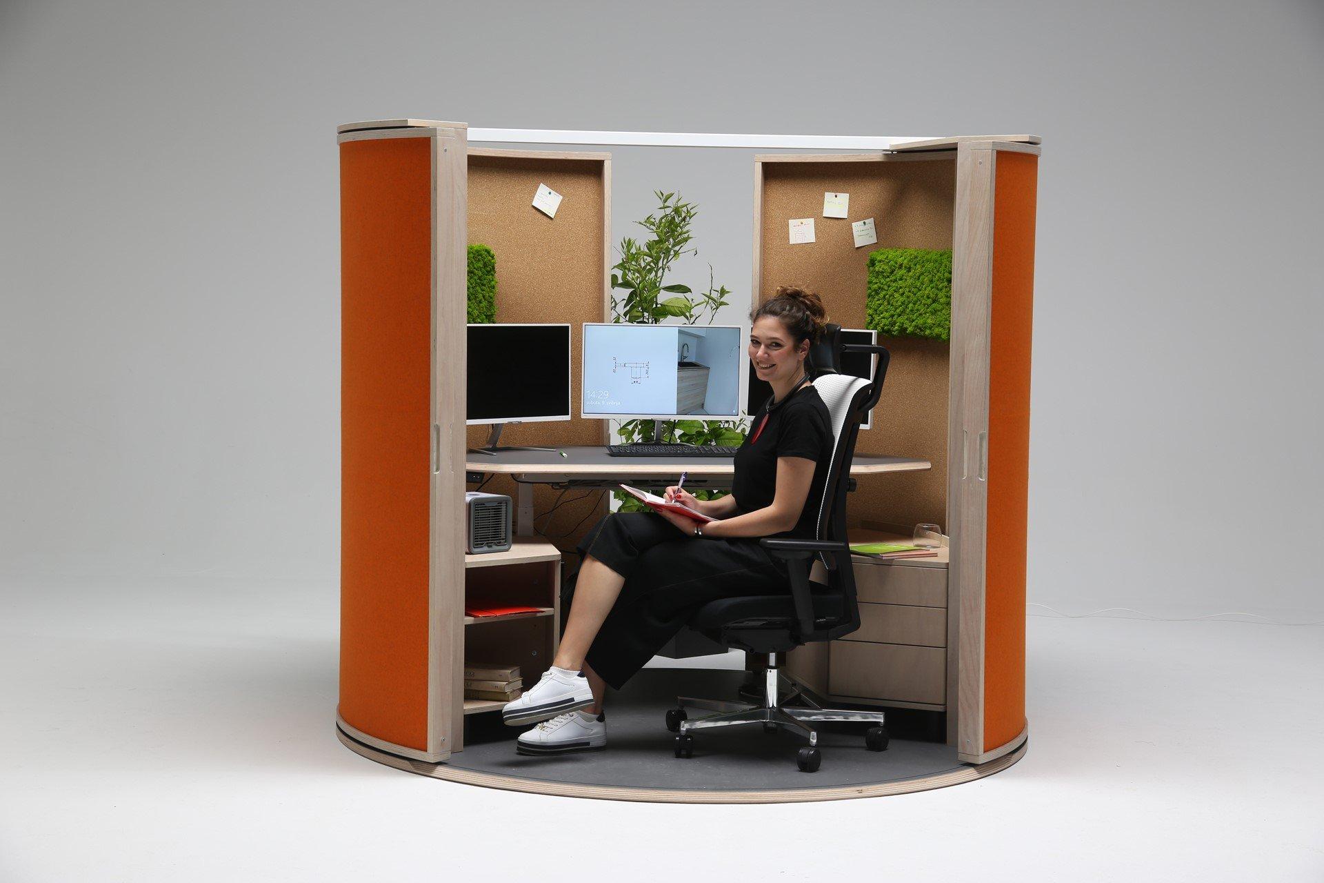 Office Shell - geöffnete Ansicht